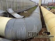 Теплоизоляция трубопроводов скорлупами ППУ / 2