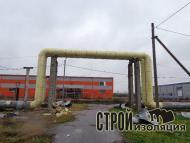 Теплоизоляция трубопроводов скорлупами ППУ / 3