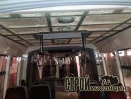 Теплоизоляция трамвая пенополиуретаном