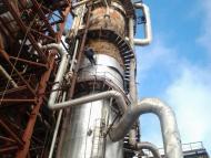 Промышленный альпинизм для теплоизоляционных работ